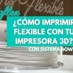 ¿CÓMO IMPRIMIR FLEXIBLE CON IMPRESORA 3D BOWDEN? ? 5 CONSEJOS con RECREUS