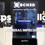 DESCUBRIENDO LA BCN3D EPSILON! ?- Primeras impresiones