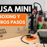PRUSA MINI Original💥 UNBOXING y PRIMEROS PASOS 💥 IMPRESORA 3D