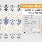 ¿CÓMO HACER UNA SIMETRÍA, MATRIZ CIRCULAR Y RECTANGULAR EN FUSION 360? ✍ Herramientas ⚒️ Sketch #05