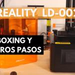 Esto tiene buena pinta... 🙃 IMPRESORA 3D CREALITY LD-002R - UNBOXING y PRIMEROS PASOS