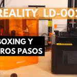 ¡ESTA IMPRESORA 3D DE RESINA ME GUSTA! 👌🏼- 💥 Review CREALITY LD-002R 💥